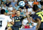 Liga Mistrzów. Cristiano Ronaldo ukarany czerwoną kartką!