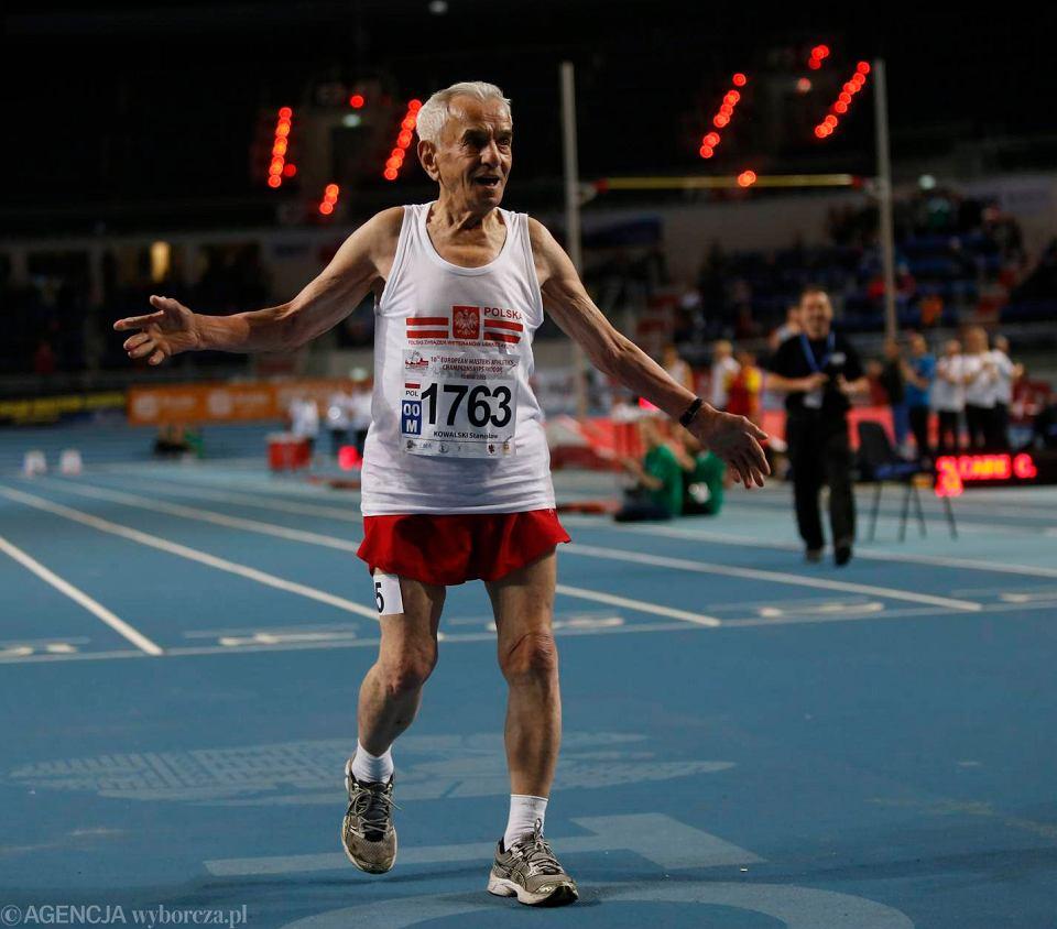Tak w mistrzostwach Europy weteran�w biega 105-latek! [ZDJ�CIA]