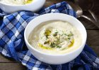 Zupa z bia�ych warzyw z nut� chrzanu