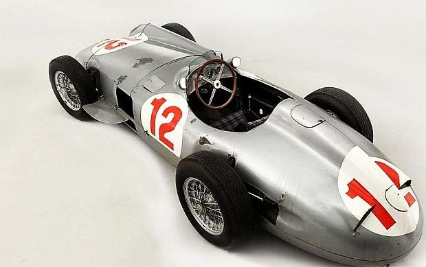 Mercedes-Benz W196 (fot. Bonhams)
