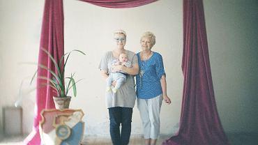 Portret rodzinny wykonany w TZF ul.Wilcza 32