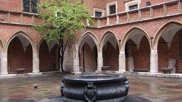 Kraków, Collegium Maius - dziedziniec