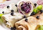 Nale�niki z ma�lanki z serem i jagodami