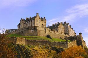 Szkocja Edynburg - zwiedzamy Zamek i Wzgórze Zamkowe