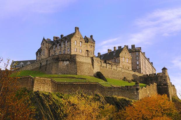 Szkocja Edynburg - zwiedzamy Zamek i Wzg�rze Zamkowe