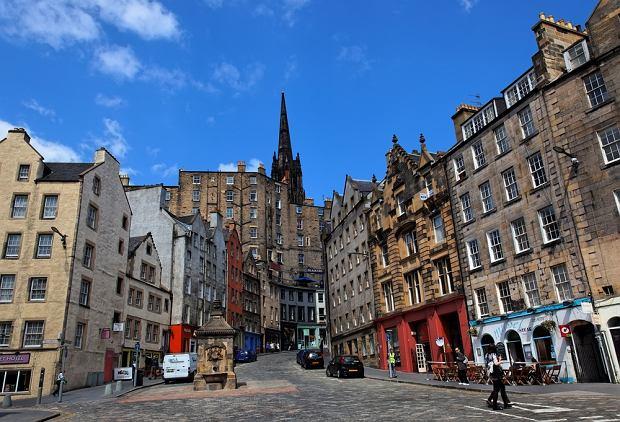 Szkocja Edynburg - Stare Miasto