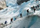 Norwegia. Jostedalsbreen - list z lodowca