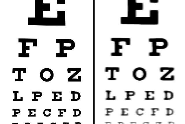 Podstawą zdiagnozowania krótkowzroczności jest badanie ostrości wzroku.