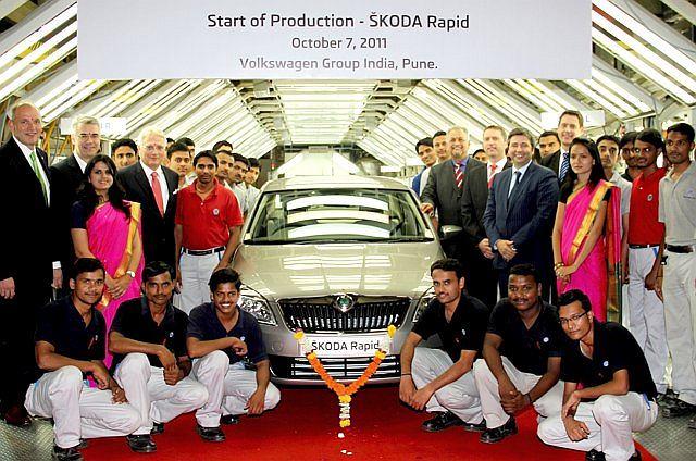 W Indiach rusza produkcja Skody Rapid