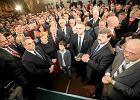9 października, wieczór wyborczy PSL w warszawskim hotelu Gromada Dom Chłopa
