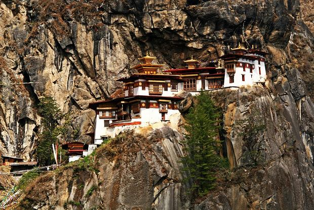 Klasztor Taktsang, Bhutan