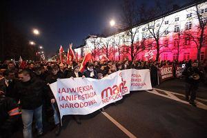 Politycy PiS pomaszeruj� przed Marszem Niepodleg�o�ci