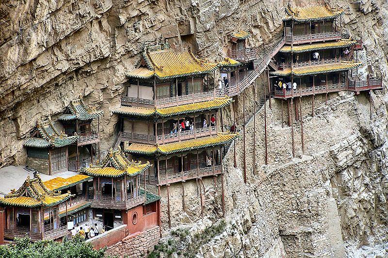 Wisząca Świątynia, Chiny