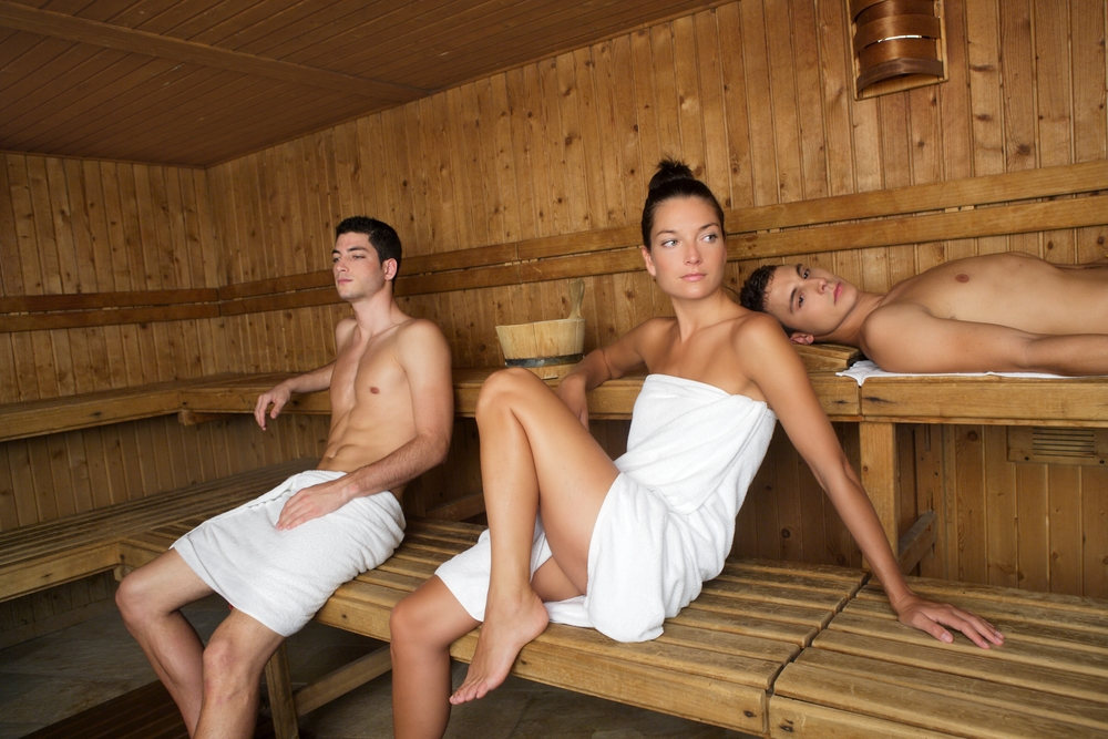 Teens in a steam room agree, remarkable