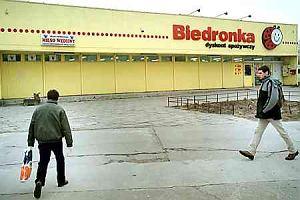 �miertelnie gro�ne w�zki w Biedronkach