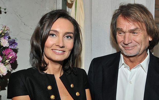 Dominika Kulczyk na zdjęciu z ojcem Janem Kulczykiem