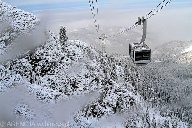 Kasprowy Wierch - wyciągi narciarskie