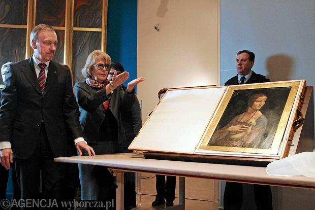 """""""Dama z gronostajem"""" do zobaczenia na Wawelu"""
