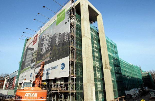 Budowa nowego biurowca NFZ przy Czerniakowskiej