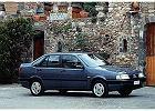FIAT Tempra  90-96, rok produkcji 0, sedan, widok przedni prawy, samochód 4-drzwiowy, kolor niebieski jasny