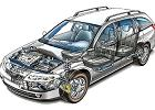 RENAULT Laguna II Grandtour 01-05 2001 cross-sectional view - Zdj�cia