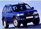 OPEL Frontera 98-04, rok produkcji 1999, hardtop, widok przedni prawy, samoch�d 3-drzwiowy, kolor niebieski jasny