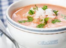 Zupa pomidorowa z ry�em - ugotuj