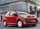 CITROEN C1 05-09, rok produkcji 2005, coupe, widok przedni prawy, samochód 3-drzwiowy, kolor czerwony jasny