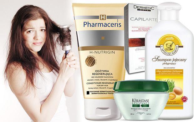 Kosmetyki do włosów suchych i zniszczonych