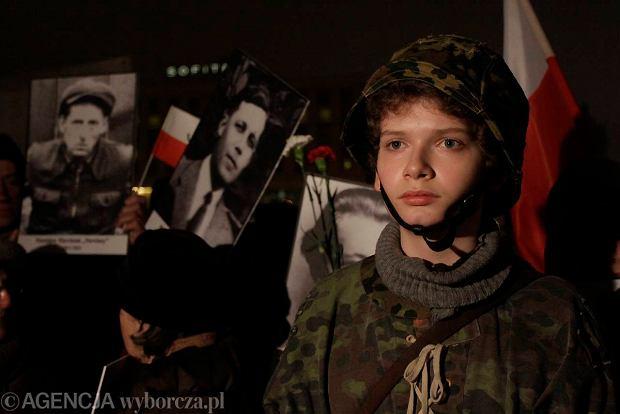 Obchody Dnia �o�nierzy Wykl�tych w Warszawie 1 marca 2012 r.