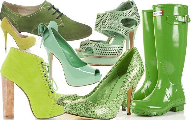 c1d853e07365d Zielone buty - który odcień najładniejszy?