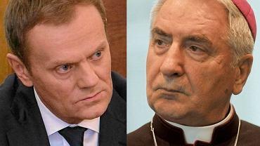 Premier Donald Tusk i prymas Polski abp. Józef Kowalczyk