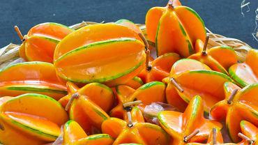 Karambola - gwiaździsty owoc