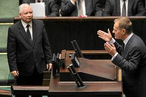 Premier ostro odpowiada Kaczy�skiemu: Niech nie opowiada o spisku Tuska i ONZ