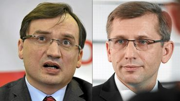 Zbigniew Ziobro i Krzysztof Kwiatkowski