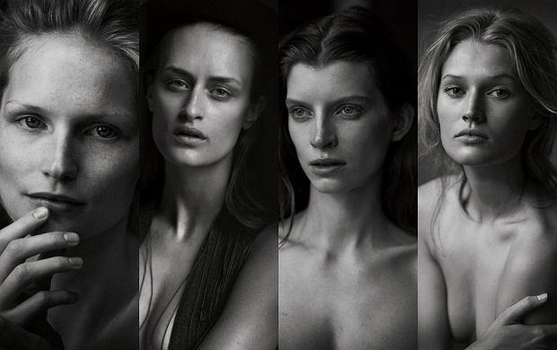 Niezwyk�a sesja niemieckiego VOGUE'A. Kobiety nago, bez makija�u, ze zmarszczkami!