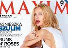 """Agnieszka Szulim pozuje na ok�adce """"Maxima""""!"""