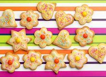 Kolorowe kruche ciasteczka - ugotuj