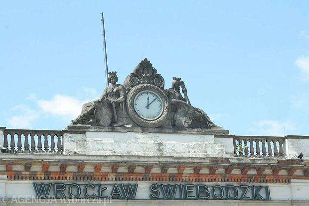 24.05.2012 WROCLAW ZRUJNOWANY DWORZEC SWIEBODZKI . FOT . JACEK KULESZA / AGENCJA GAZETA   SLOWA KLUCZOWE: DWORZEC SWIEBODZKI PKP KOLEJ