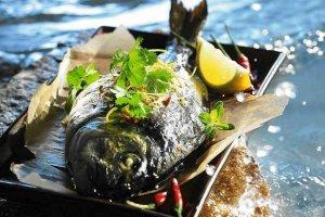 Ryby, owoce morza na ostro