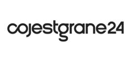 cojestgrane24 - mono, logo poziome
