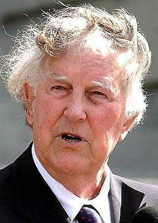 Sir Edmund Hillary - zdj�cie z 2003 r.
