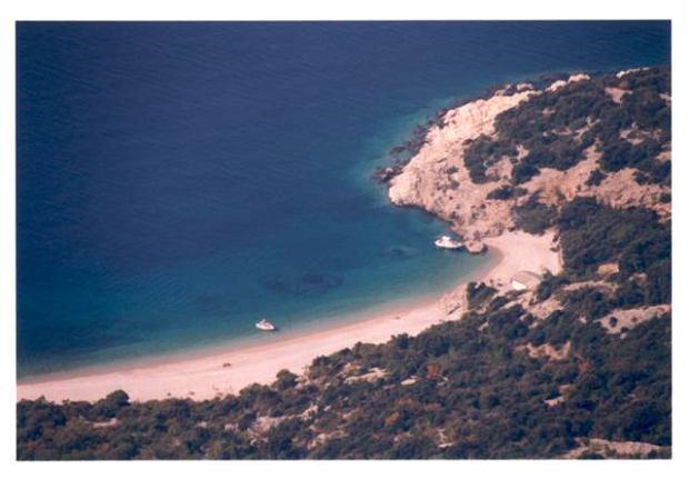 List z Chorwacji. Na niebiańskiej plaży