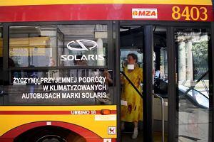 Autobusy i tramwaje jeżdżą z zepsutą klimatyzacją