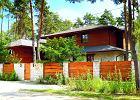 Dom z ceg�y, drewna i kamienia