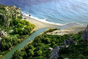 Kreta. Retymnon od morza do morza