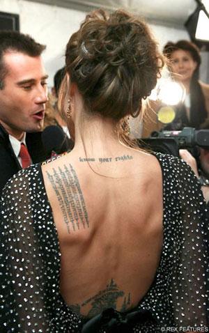 Najseksowniejsze Gwiazdy Z Tatuażami