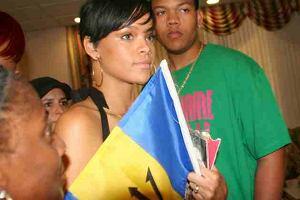 Rihanna na Barbadosie!