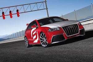 Audi na zlot tuningowc�w