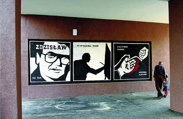 Zdj cie nr 12 w galerii w warszawie na ka dym kroku mural for Mural ursynow